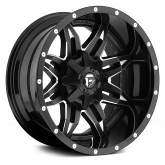 FUEL - LETHAL Gloss Black with Milled Accents